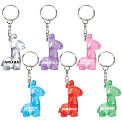 KEY CHAIN CRYSTAL GIRAFFE