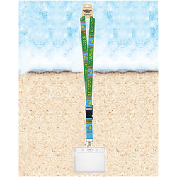 Rockin Gear Souvenir Lanyards With Badge Holder