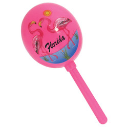 FLAMINGO MARACAS 5 ASSORTED CO