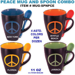 Peace Spoon Mugs