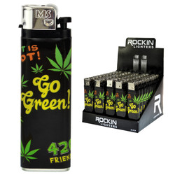 MARIJUANA LEAF Lighters