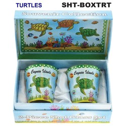 TURTLES SOUVENIR SHOT GLASS GIFT SET