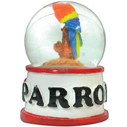 PARROT WATER GLOBE MAGNETS