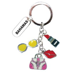 DANGLING LADIES ITEMS KEYCHAIN
