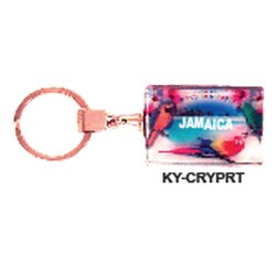 CRYSTAL PARROT KEY CHAIN