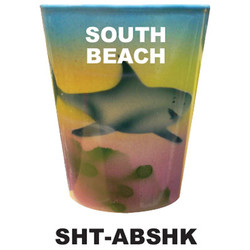 AIRBRUSH SHARK SHOT GLASSES