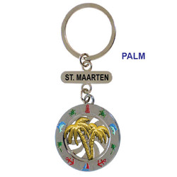 PALM SPINNING KEY CHAIN