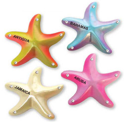 STAR FISH NEON MAGNETS