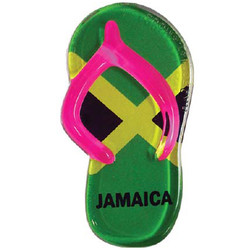 JAMAICA FLAG SANDAL MAGNETS