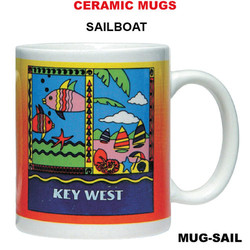 Sailboat Ceramic Mug