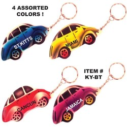 AIRBRUSHED BEETLE KEYCHAINS