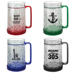Beer Freezer Mugs