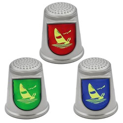 STAINLESS STEEL THIMBLES. SAILBOAT