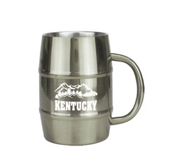 Mug-SS2 Stainless Steel Barrel Mug