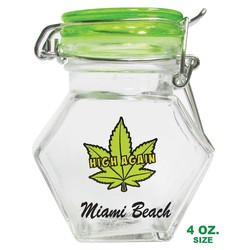 MINI LEAF MASON JARS SHOT GLASSES | 1.5 Oz.