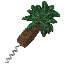 PALM TREE CORKSCREW MAGNET