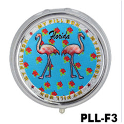 Flamingos Foil Pill Box