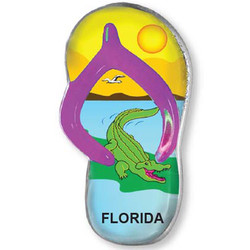 ALLIGATOR SANDAL MAGNET