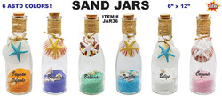 Sand Jars Rope & Shell