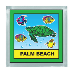 TURTLE SQUARE MAGNET