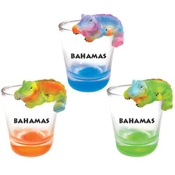 IGUANA TOPPER SHOT GLASS