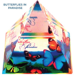 Butterflies In Paradise Pyramid