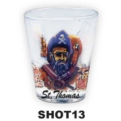 PIRATES SHOT GLASS