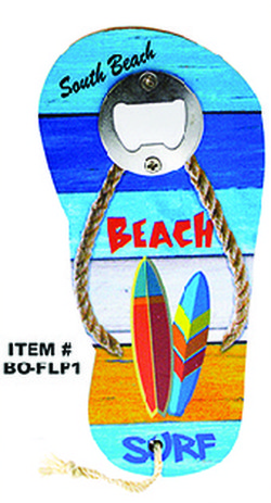 Flip Flop Bottle Opener South Beach