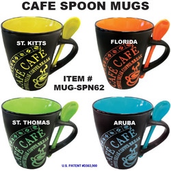 Cafe Spoon Mugs