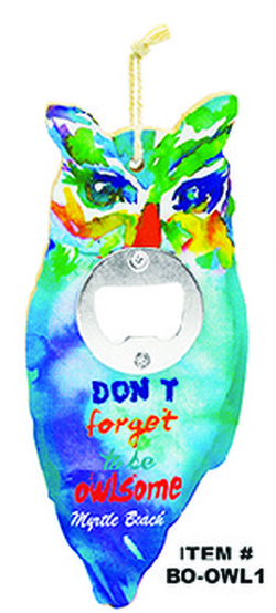 Owl Bottle Opener Myrtle Beach