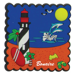 LIGHTHOUSE PVC STAMP MAGNETS