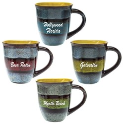 Glazed Ceramic Mugs 14 Oz.