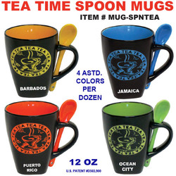 Tea Time Spoon Mugs