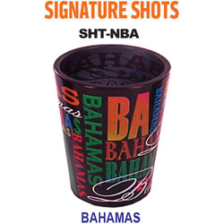 BAHAMAS, Signature Series Shot Glasses