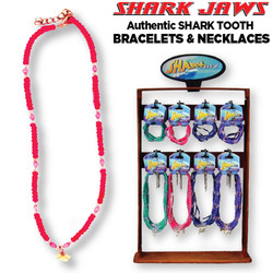 Shark Tooth Bracelets and Necklaces