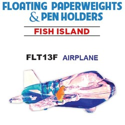 Airplane Paperweight & Pen Holder