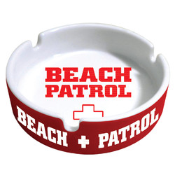 Beach Patrol Ashtray
