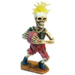 Skeleton Basketball Player Figurine