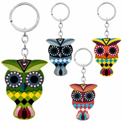 Owl PVC Key Chains