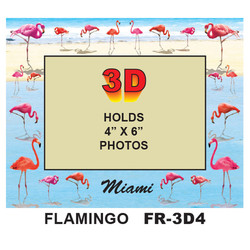 Flamingos 3D PHOTO FRAME