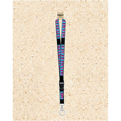 Rockin Gear Souvenir Lanyards Miami Beach Retro