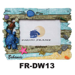 Driftwood Turtles Photo Frames