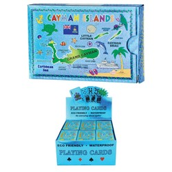 Metallic Playing Cards CAYMAN ISLANDS