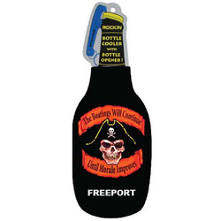PIRATE BEATINGS WILL CONTINUE BLACK BOTTLE COOLER