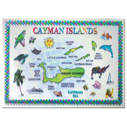 Cayman Islands Foil Magnet