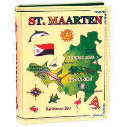 St. Maarten Large Leather Photo Album