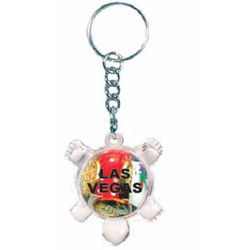 KEY CHAIN FLOATING CASINO TURTLE