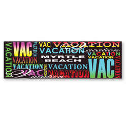 VACATION METAL MAGNETS, SIGNATURE SERIES