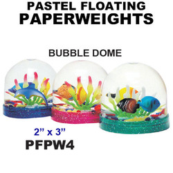 Bubble Dome Floating Paperweight
