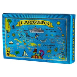 Caribbean Metallic Waterproof Playing Cards